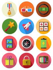 round icons set 11