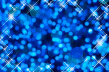 Fond bleu scintillant