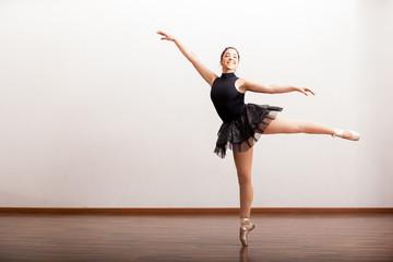 Beautiful ballerina in a tutu