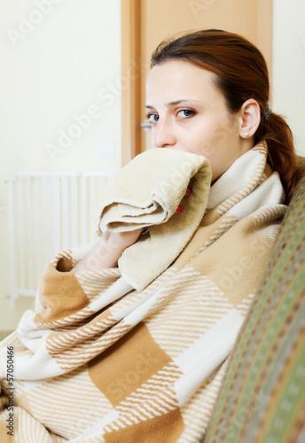Poster illness woman