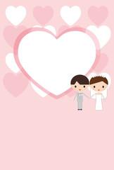 結婚 ウェディング カード