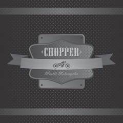 chopper motor label art