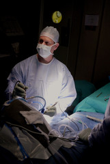 doctor in surgery