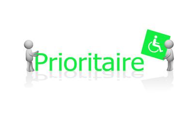 3D - Prioritaire