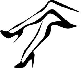 legs in stilletos