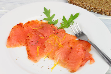 Sliced Chilli Salmon
