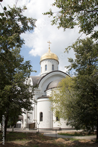 Russian Orthodox Church of St. Evfrosinia, Moscow, Russia