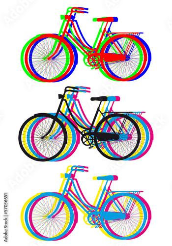 kolorowe-sylwetki-rowerow-wektor-zestaw