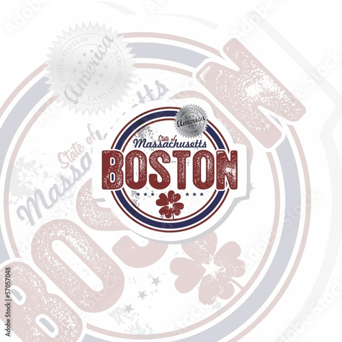 boston label