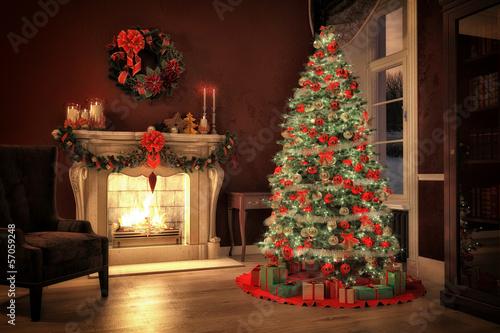 christmas tree - 57059248