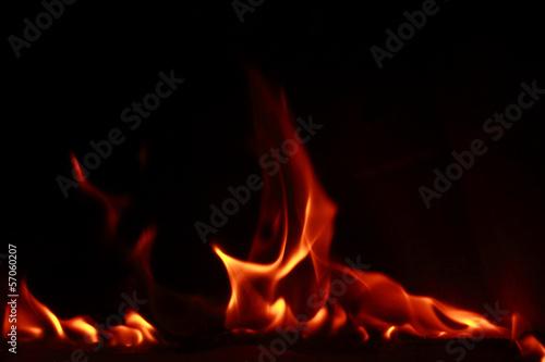 Papiers peints Feu, Flamme Fire flames