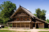 House at the Museum of Wooden Architecture Vitoslavlitsy