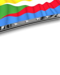 Designelement Flagge Komoren