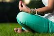 Hands Of Woman Meditating