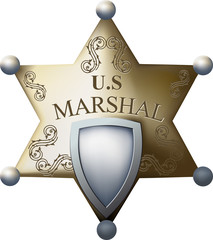 Marshal's badge