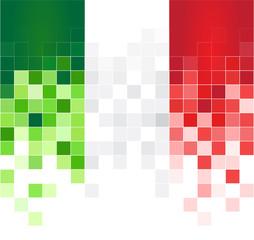 italia pixel sfondo