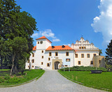 Blansko - Renaissance castle in Moravia, Czech Republic