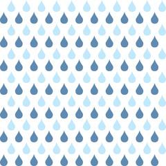 Teardrops Blue