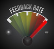 feedback rate level measure meter