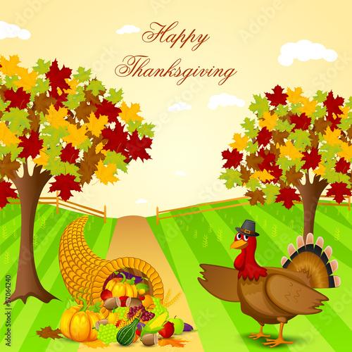 Thanksgiving Harvesting festival