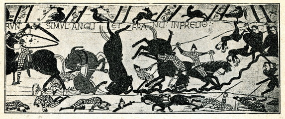 Bayeux Tapestry. Scene 53