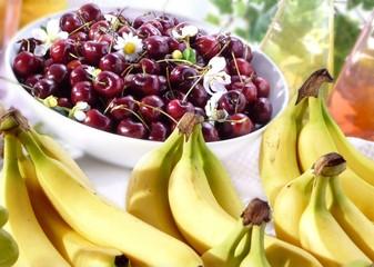 banane e ciliege