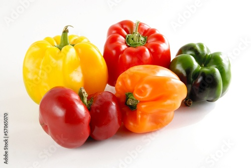 multicolor peppers