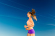 Sport and Fitness - woman jogging