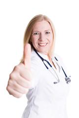 Motivierende Ärztin