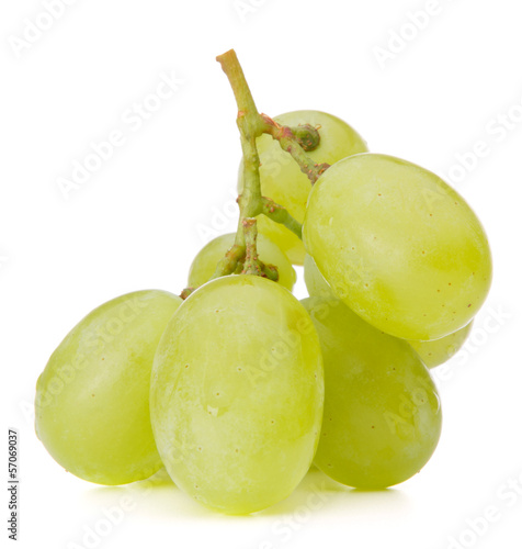 Green grape bunch