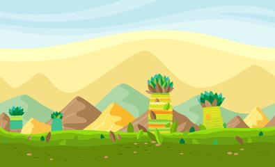 Seamless landscape