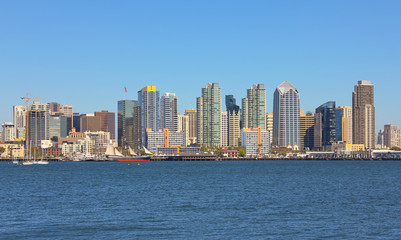 A View of San Diego Bay and Downtown