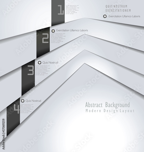 Modern Design white paper Layout