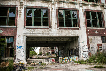 Abandoned Packard Factory 19