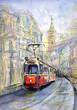 Quadro Old tram