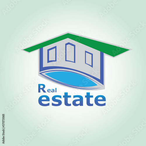 Real Estate Logo-pool front no.1