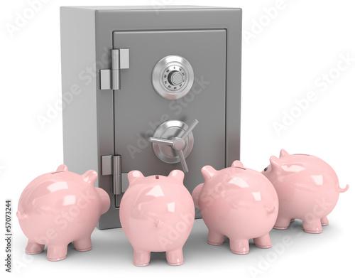 Ersparnisse in Sicherheit bringen