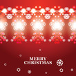 vector abstract Christmas banner