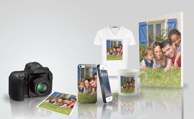 Tirage photo - impression sur objet - famille