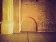 Medieval wall retro look