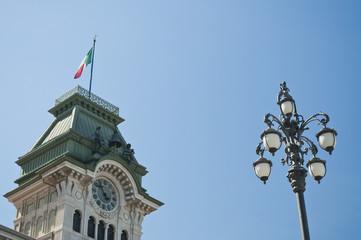 Trieste - dettaglio Municipio