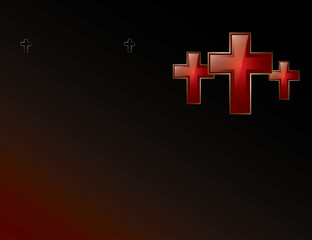 Crosses background