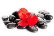 Spa Stone.  Zen pebbles. Stone spa and healthcare