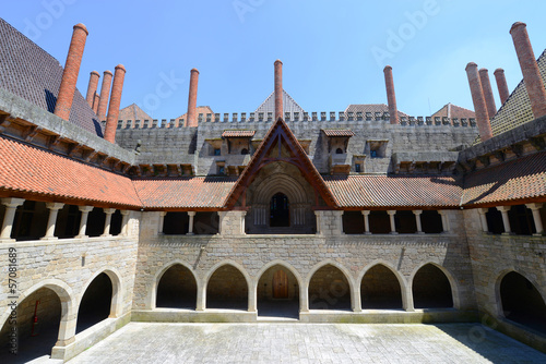 Palace of the Dukes of Braganza, Guimarães, Portugal
