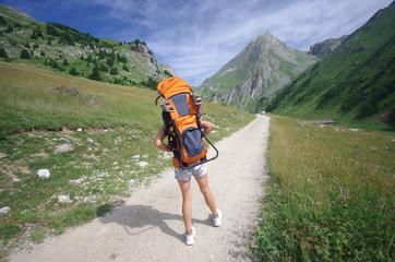 randonnée en montagne - vanoise