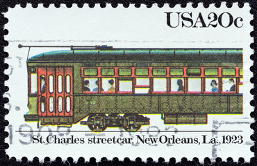 St. Charles streetcar, New Orleans, 1923 (USA 1983)