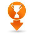 victoire sur signet orange