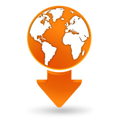 voyages sur signet orange