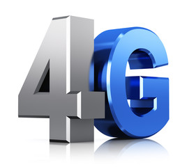 4G LTE wireless technology logo