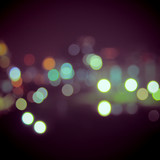 Bokeh light vintage background